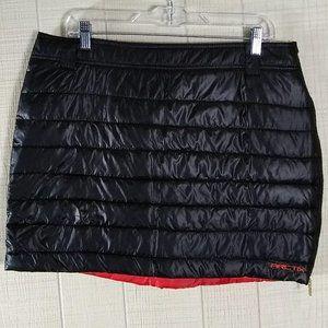 Arctix Insulated Powder Cloud Snow Skirt Black Red